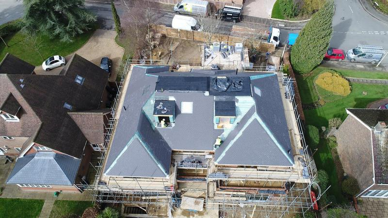 Image 100 - Tiled roof and 3 Felt Roof on a large property in Harpenden
