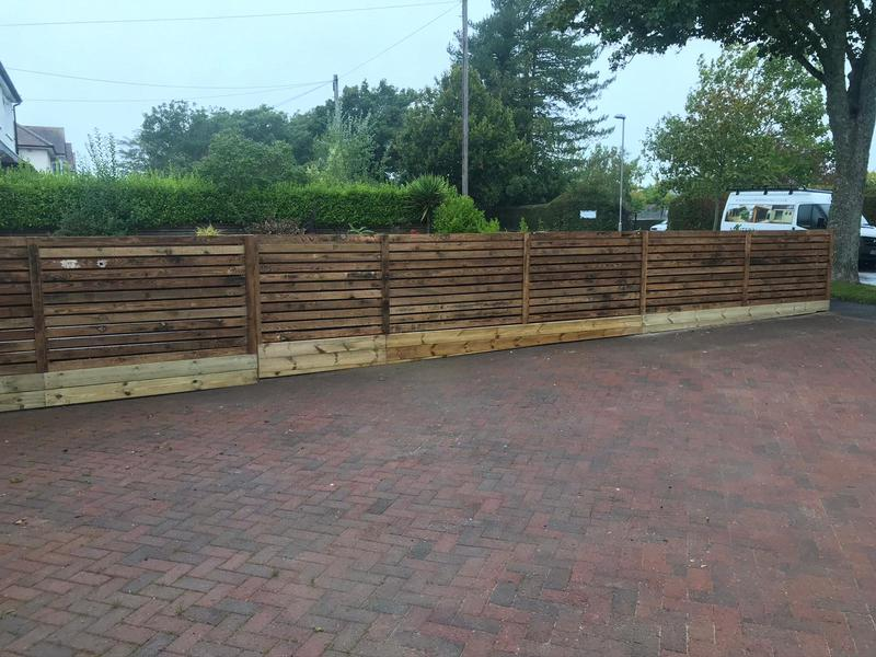 Image 25 - Hit and miss style fencing, Dorchester
