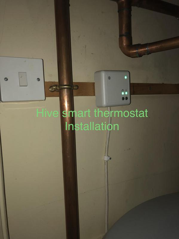 Image 27 - Hive smart heating and hot water control installed during megaflo cylinder upgrade
