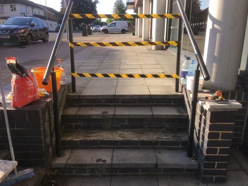 Image 7 - Repair to steps
