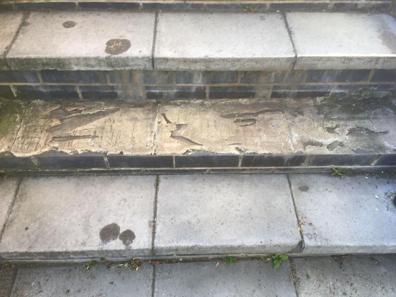 Image 9 - Repair to steps