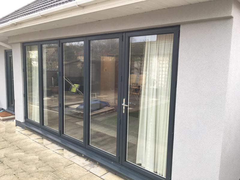 Image 110 - Hockley-Grey Bi-folding doors