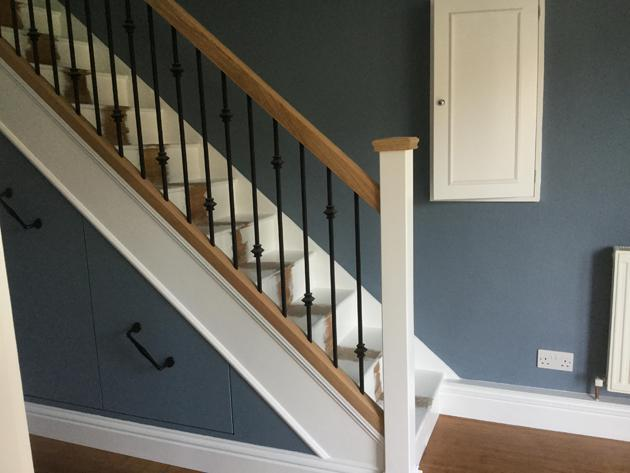Image 19 - Decorating, woodwork and understairs storage cupboards - After