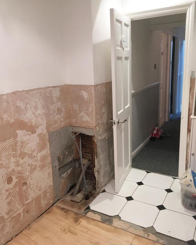 Image 6 - Bathroom storage renovation before