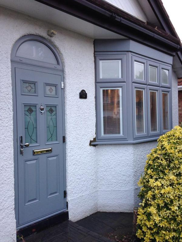 Image 108 - Hornchurch-Light grey composite door