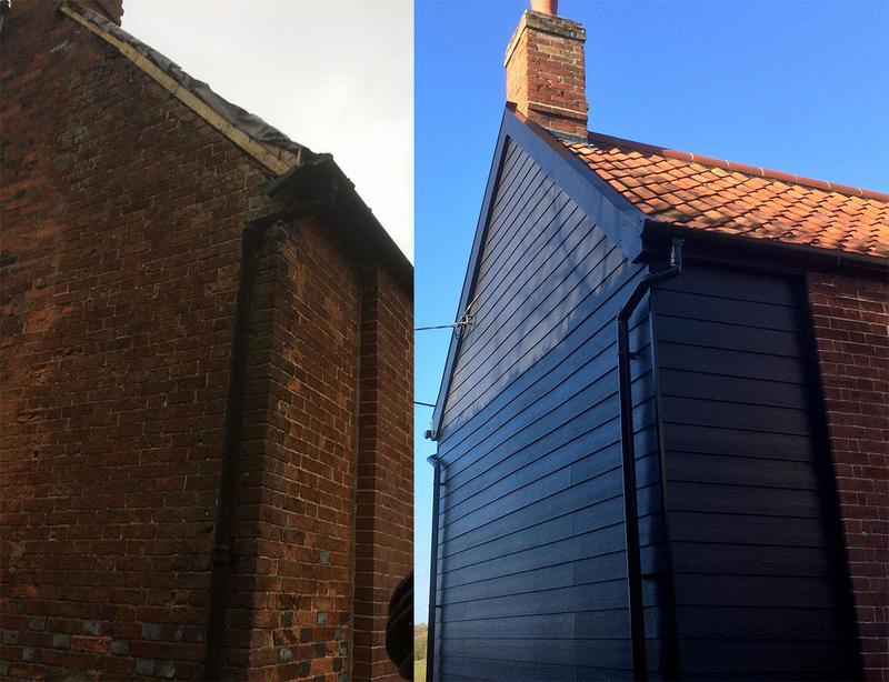 Image 1 - from rotten fascia's and soffits to cladding and new fascia's and soffits