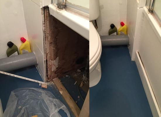 Image 19 - Fixing bathtub