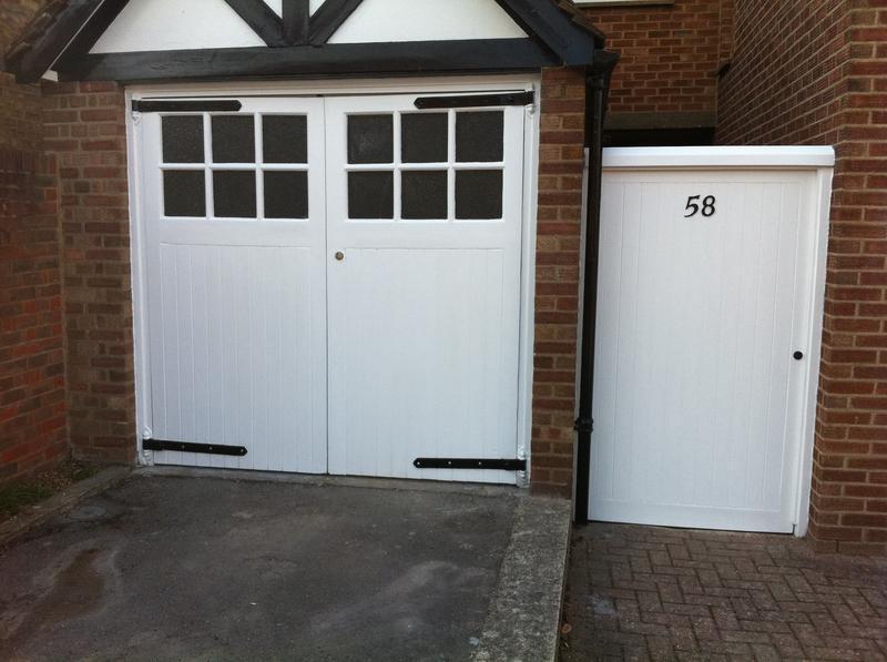 Image 8 - Repairs & decoration to gate & garage doors