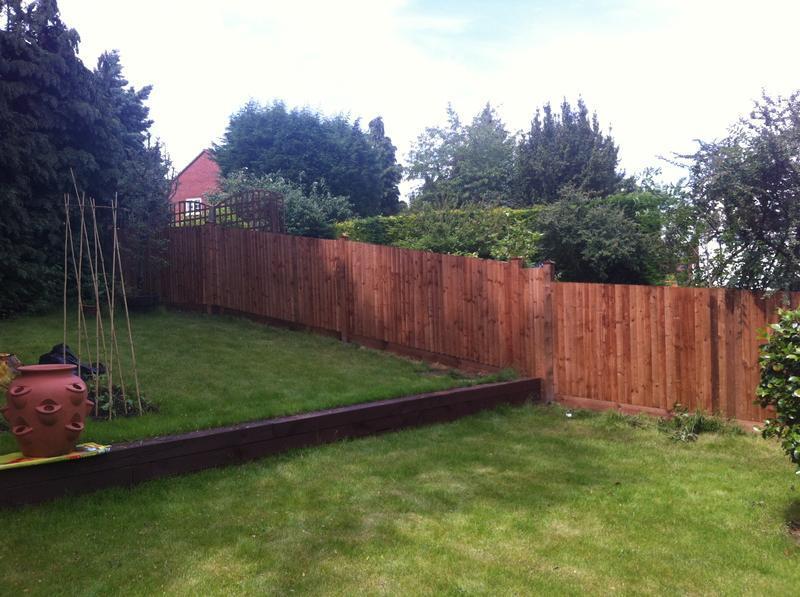 Image 105 - Large fence install