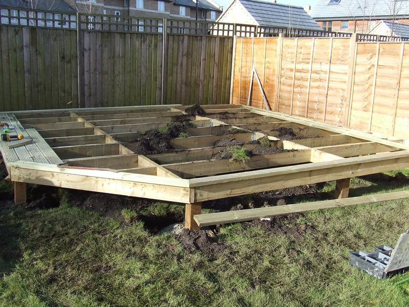 Image 6 - Preparation for decking area