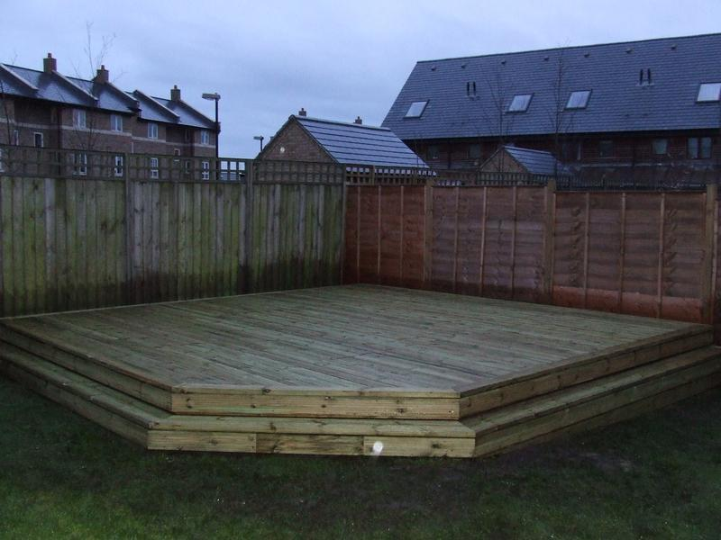 Image 7 - Completed decking area