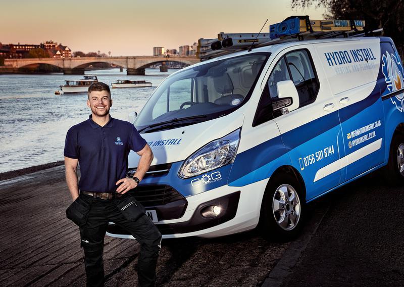 Image 3 - Igor Chuchro, main heating engineer and his Van in Putney, Wandsworth, SW18