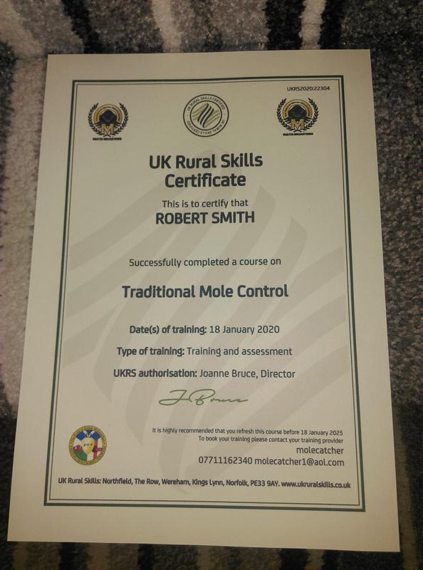 Image 15 - Fully qualified for traditional mole pest control