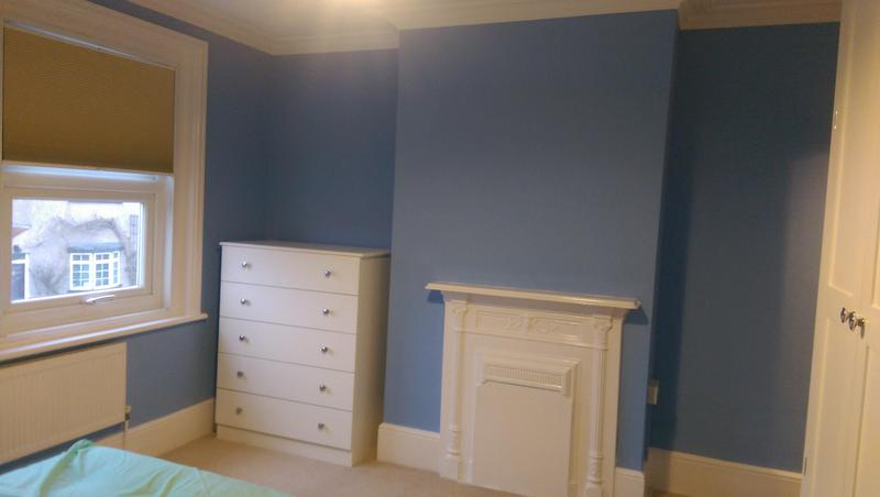 Image 43 - Same house in Bromley, SE. A picture of the bedroom this time. The client was very happy with the finish and she later recommend us to her family and friends.