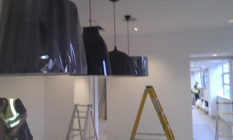 Image 2 - lights in reception at capital radio