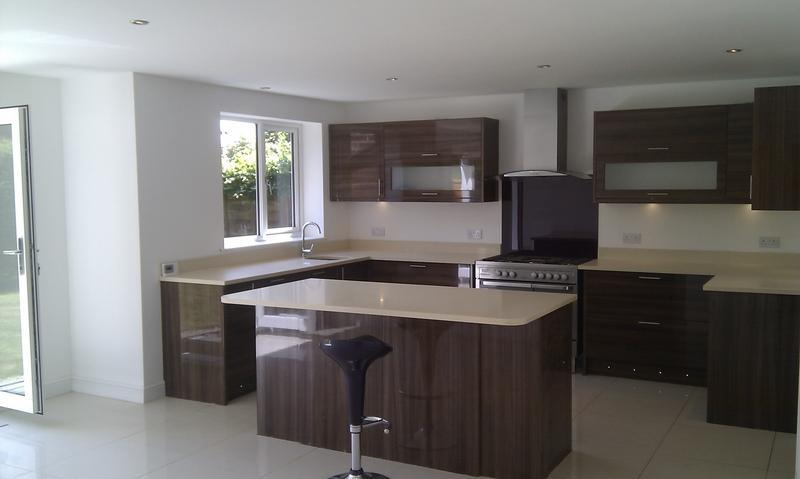 Image 4 - The kitchen finished, July 2011