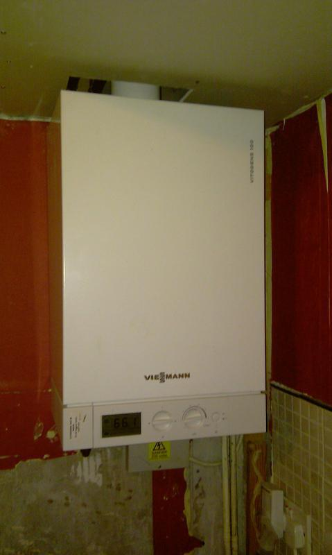 Image 5 - Installed a 19 Kw Viesmann Heat Only Boiler in The Kitchen