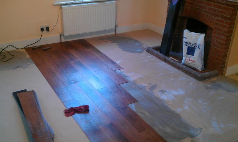Image 47 - The set out.  LVT