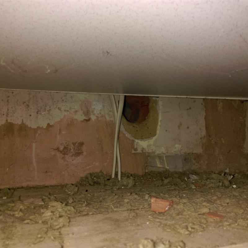 Image 34 - Rat access hole