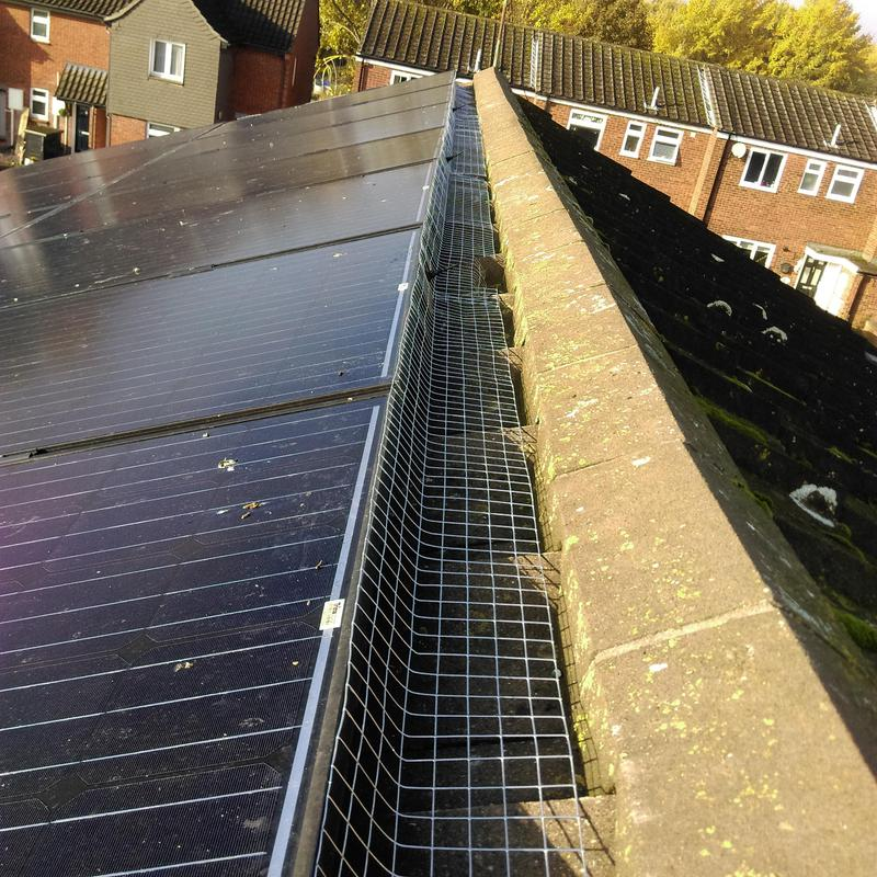 Image 26 - Solar panel proofing by the exterminator pest control, Done the correct way.NO CABLE TIES HERE