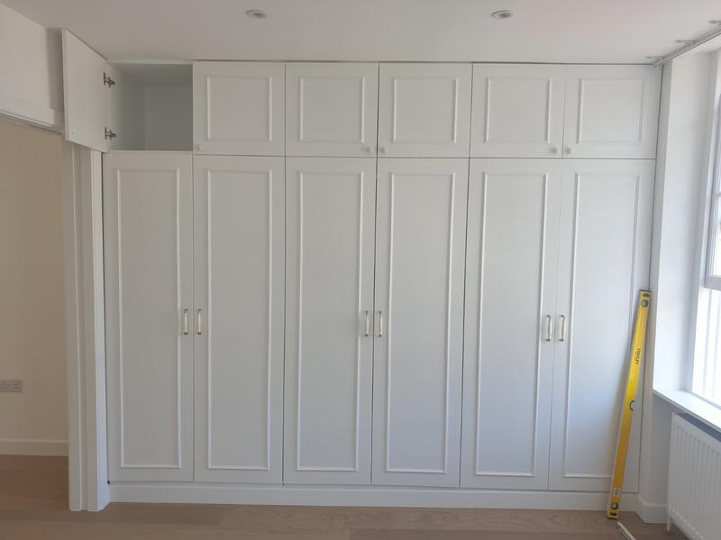 Image 24 - Two bedroom flat after refurbishment and hand made wardrobes.