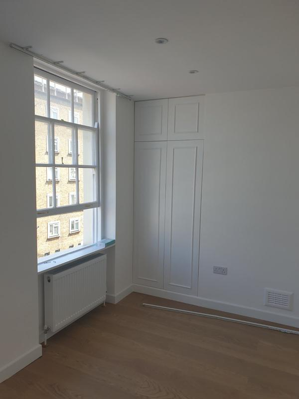 Image 7 - Two bedroom flat after refurbishment and hand made wardrobes.