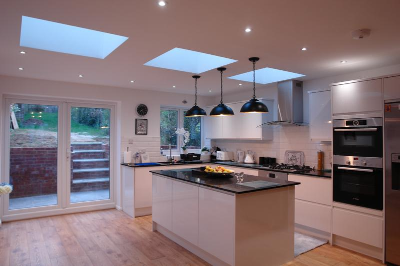 Image 3 - Open Plan Kitchen with Island.