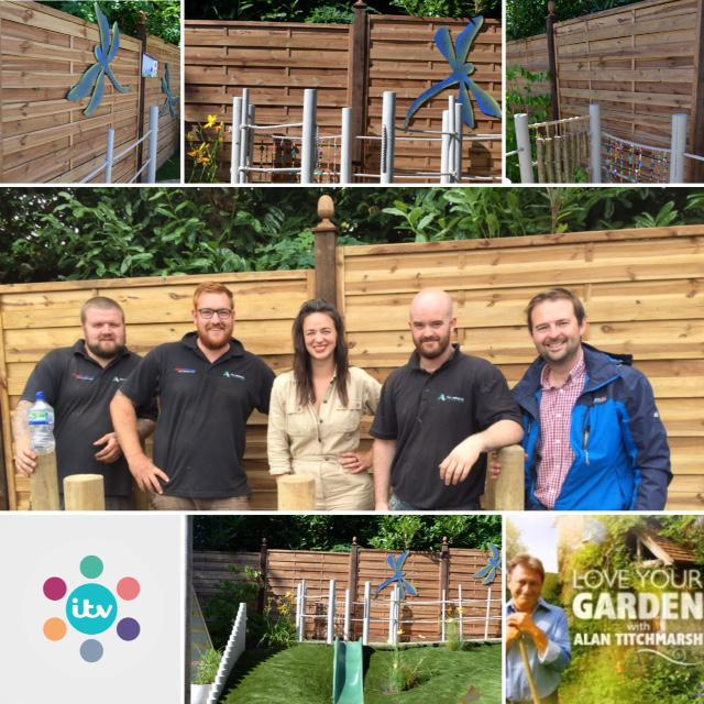 Image 19 - WE PROUDLY PROVIDED FENCING FOR ITV'S LOVE YOUR GARDEN WITH ALAN TITCHMARSH