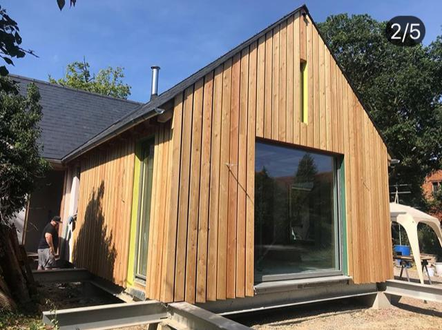 Image 1 - Stunning bespoke barn, with larch cladding 2019.