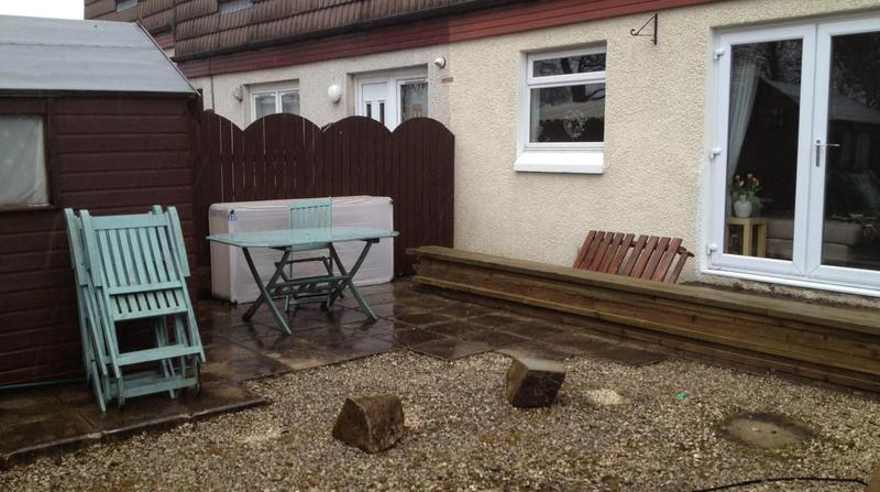 Image 3 - Garden before decking
