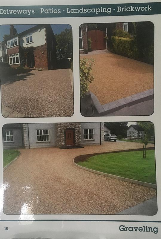 Image 12 - Some of our graveling work.