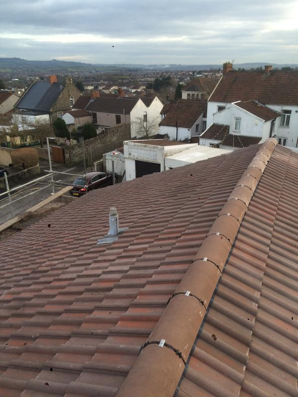 Image 2 - New Felt, Battens and Tiles, all waste disposed of. Job completed inside a week. Stay Dry team do not prolong any project, fast and efficient with quality results. Other side is below. Jan 2018