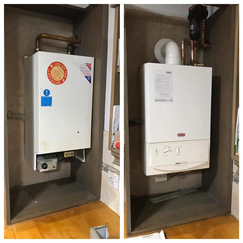 Image 34 - New Heat Only Boiler Installation