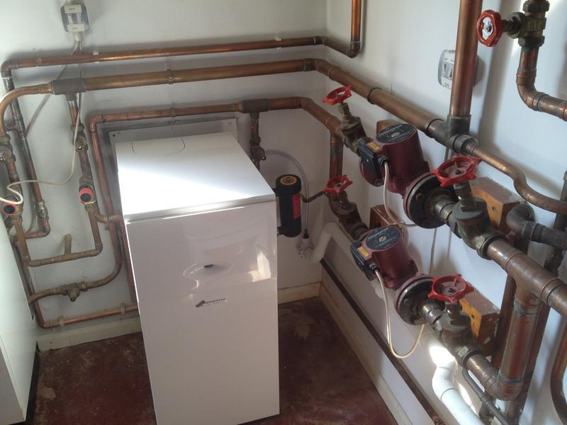 Image 11 - Recent conventional boiler change