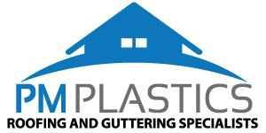 PM Roofs & Gutters logo