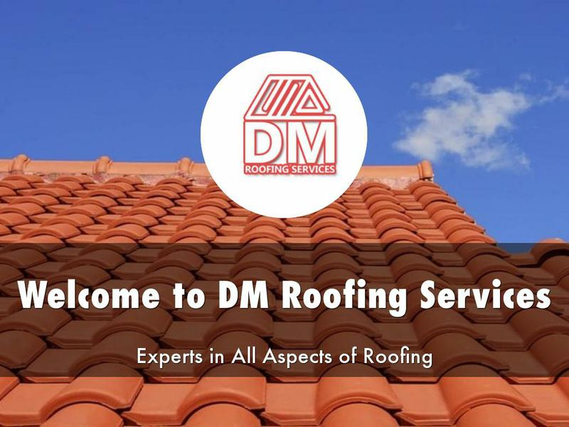 D&M Roofing logo