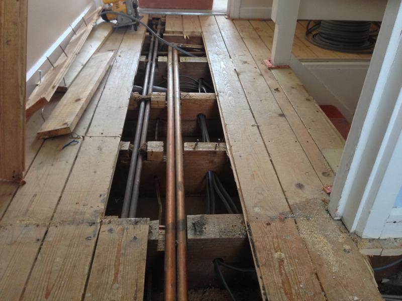 Image 15 - A full Rewire in progress