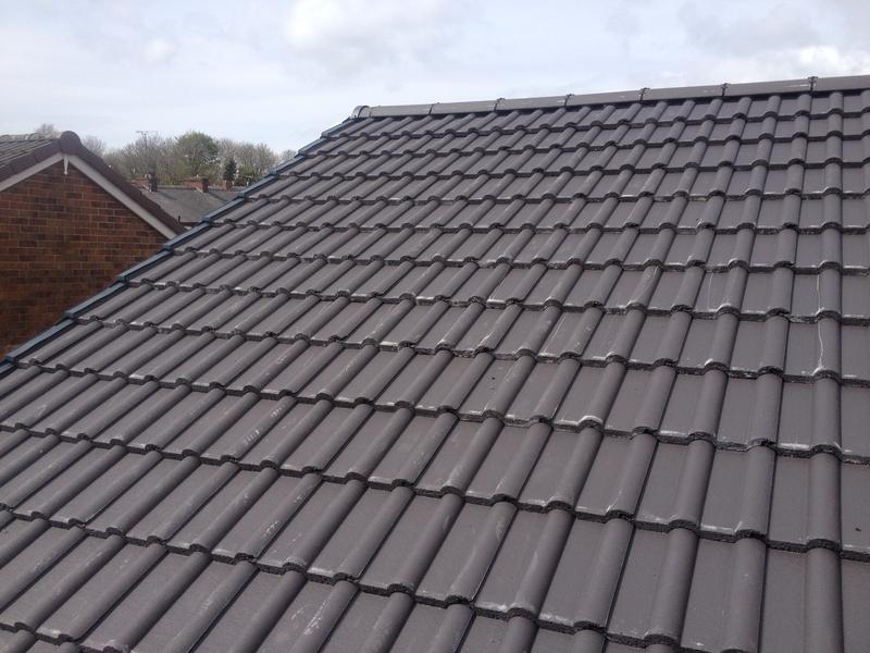 Image 2 - New Roofe tiles and dry ridge