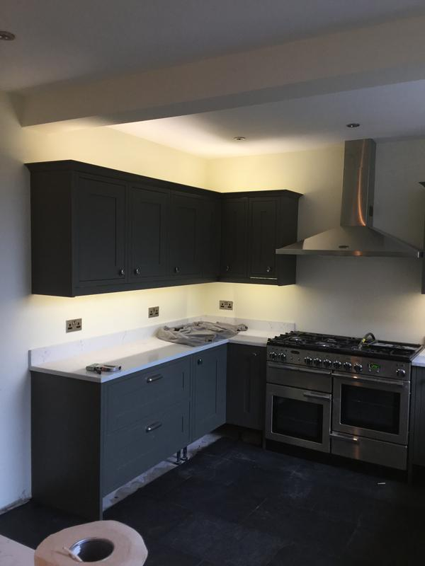 Image 1 - Kitchen job under cupboard lights