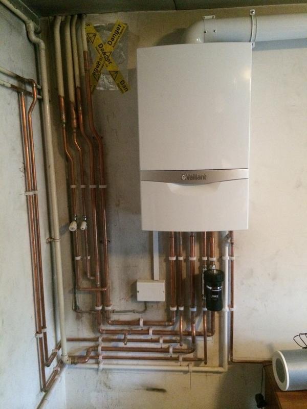 Image 46 - New boiler