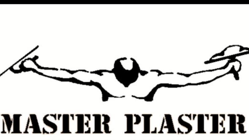 Master Plaster logo