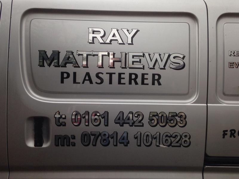 Ray Matthews Plasterers logo