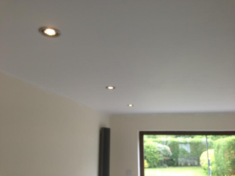 Image 16 - Downlights installed by electricians in Hertford.