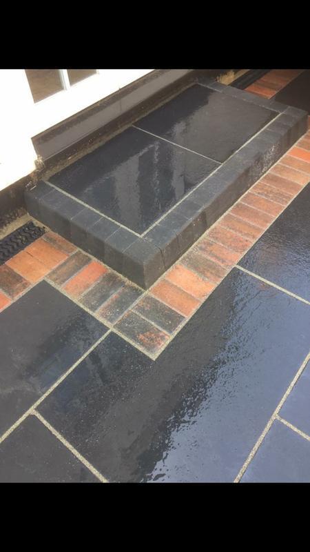 Image 24 - Black granite step