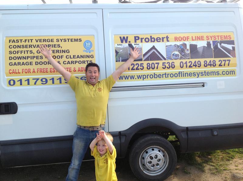 W Probert Roofline Systems logo