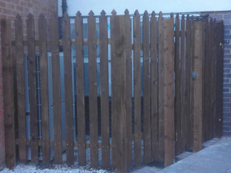 Image 2 - Custom fencing for around bin store