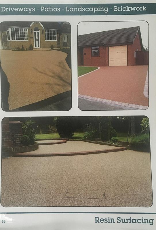 Image 1 - Some photos of our resin bonded surface work.