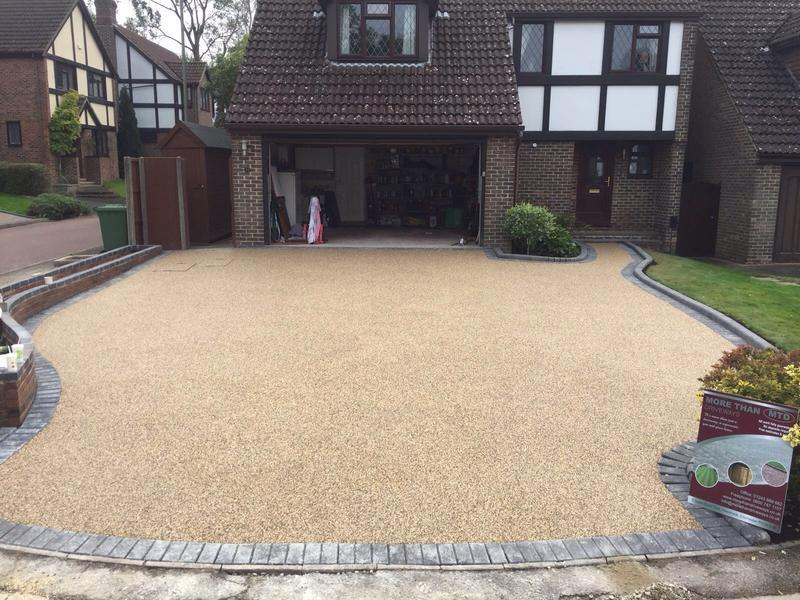 Image 38 - New resin bond driveway
