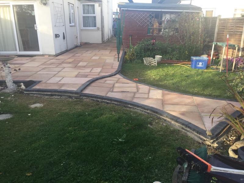 Image 9 - Finished patio