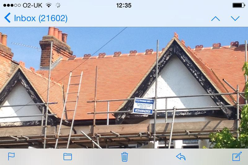 Image 2 - New tiled roof first avenue Westcliff on Sea